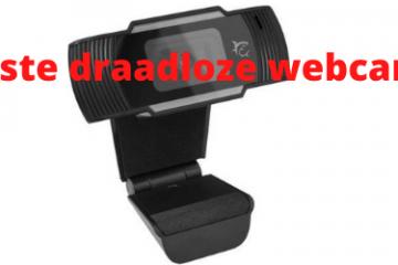 Beste draadloze webcams