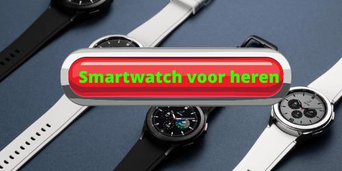 Smartwatch voor heren