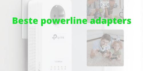 Beste powerline adapters