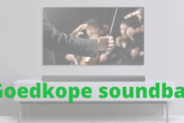 Goedkope soundbar
