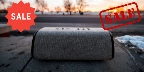bluetooth speaker sale aanbieding